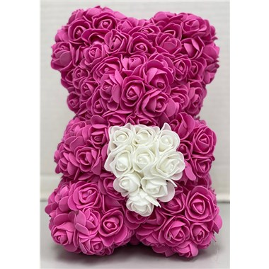 pink rose bear valentines weekend